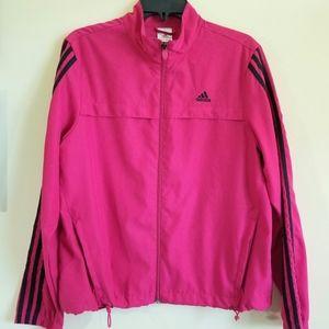Adidas Pink Jacket Large